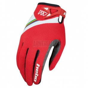 GUANTES AM REPLICA HEBO ROJO JUNIOR