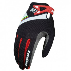 GUANTES AM REPLICA HEBO NEGRO JUNIOR