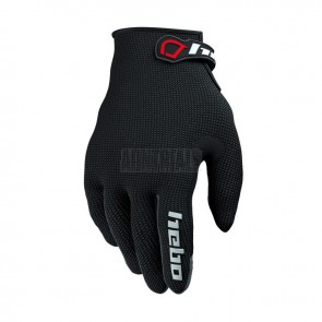 GUANTES TRIAL TEAM HEBO NEGRO